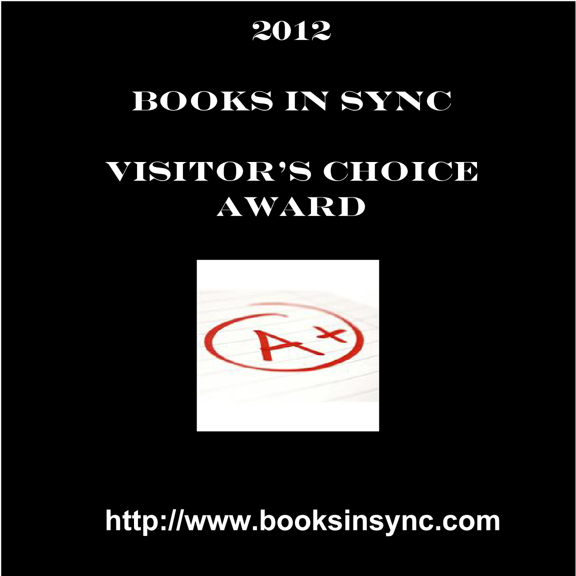 2012 Visitor Choice Award