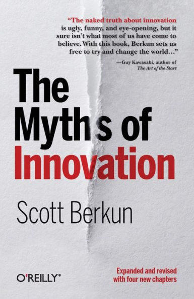 """Quote from """"The Myths of Innovation"""""""
