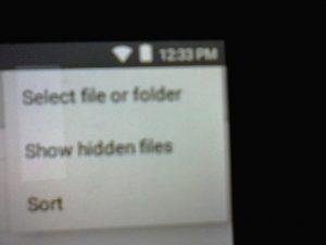 select file menu image