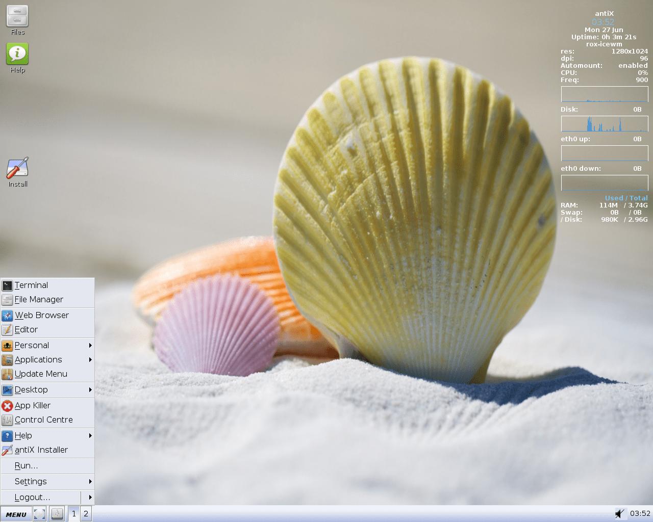 Anti-x screen shot