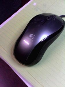 Logitech LX3 mouse image