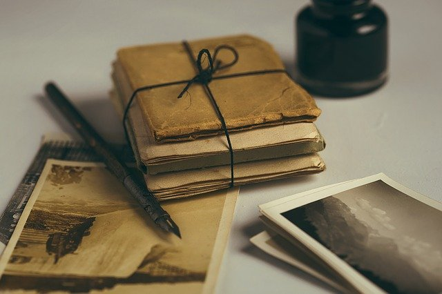 Old Letters and Quill