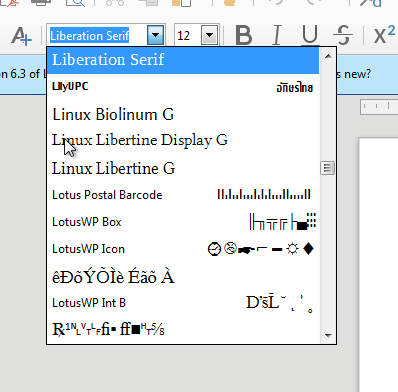 LibreOffice on Windows