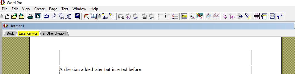 WordPro document image