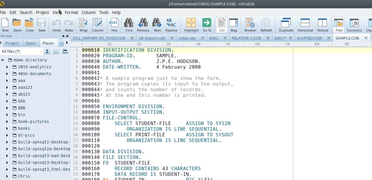 cobol fixed format sample image
