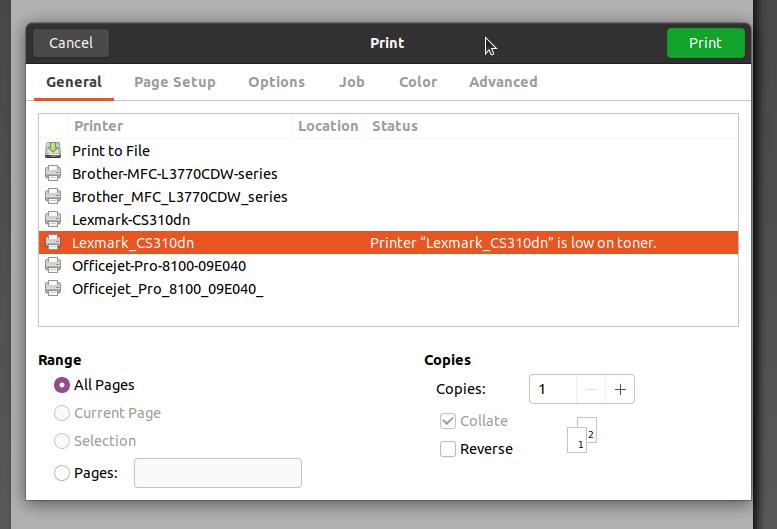Fixing Ubuntu Duplicate Printers